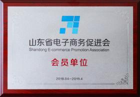 2018年成为山东省电子商务促进会会员单位
