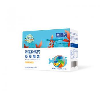 善卡优•海藻粉高钙凝胶糖果