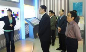 济南市组织部副部长姜杰到我公司调研党建工作
