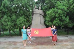 我企业党员参观山东党史馆并参加宣誓活动